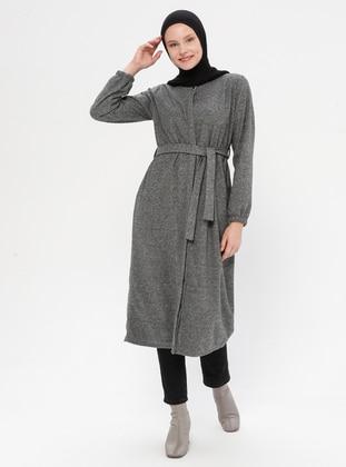 Gray - Gray - Unlined -  - Topcoat