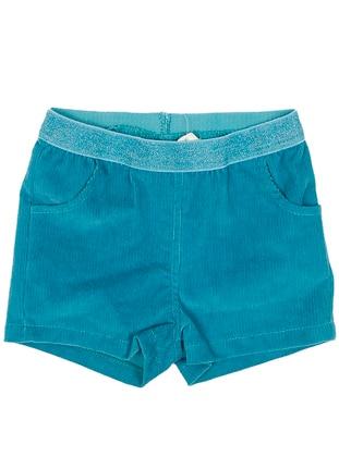 - Unlined - Turquoise - Girls` Shorts