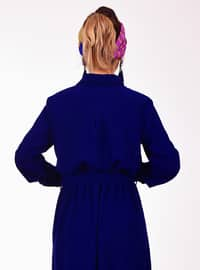 Indigo - Point Collar - Dress