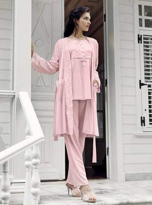 Pink - Powder - Morning Robe