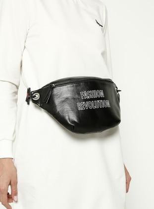 Black - Crossbody - Bum Bag