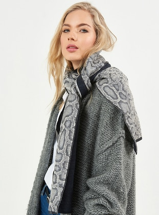 Gray - Shawl Wrap