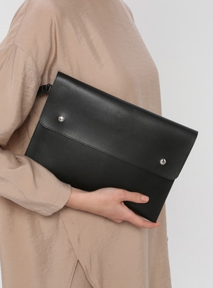 Black - Clutch - Clutch Bags / Handbags