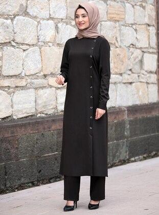 Brown - Suit - Rabeysa