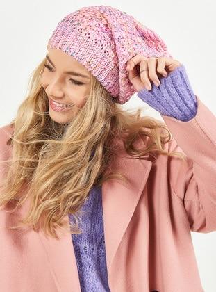 Pink - Hats - Soft Scarfs