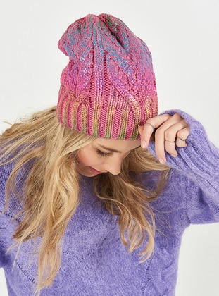 Pink - Hats - Soft Scarfs