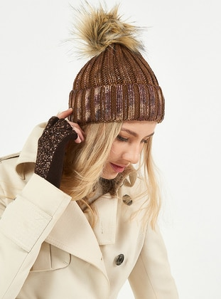 Brown - Hats - Soft Scarfs