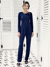Navy Blue - Pyjama Set