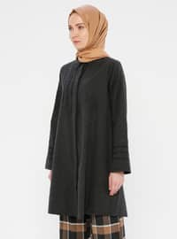 Anthracite - Point Collar -  - Tunic