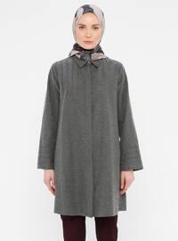 Gray - Point Collar -  - Tunic