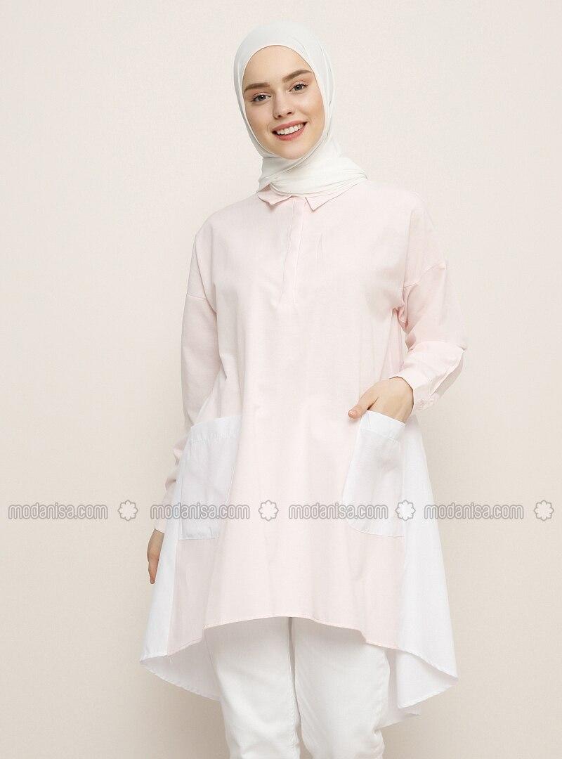 White - Pink - Tunic