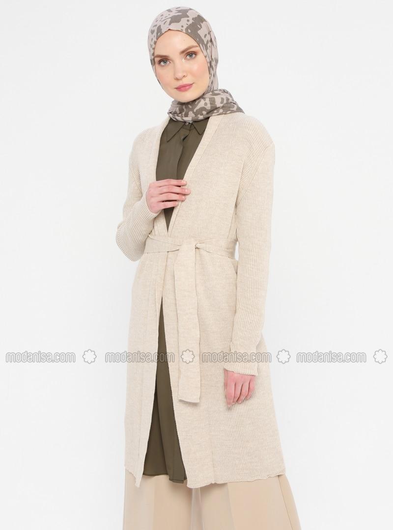 Mink - Shawl Collar - Acrylic -  - Viscose - Cardigan