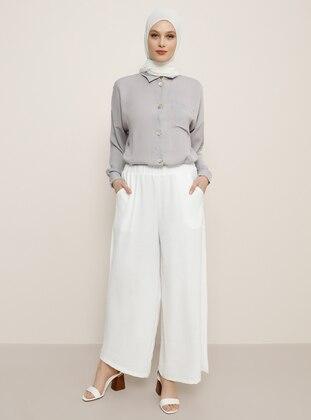 White - Culottes