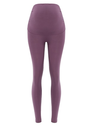 Purple - Modal - Legging