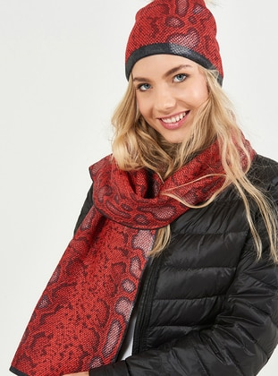 Red - Hats - Soft Scarfs