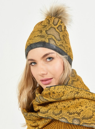 Yellow - Hats - Soft Scarfs