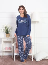 Indigo - Crew neck - Multi -  - Pyjama Set