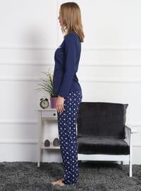 Indigo - Crew neck - Multi -  - Pyjama Set