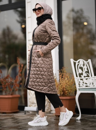 Mink - Fully Lined - Waterproof - Puffer Jackets - Rana Zenn