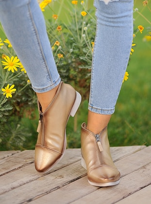 Gold - Gold - Boot - Boots