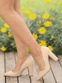 Nude - High Heel - Heels