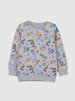 Gray - Boys` Sweatshirt - LC WAIKIKI