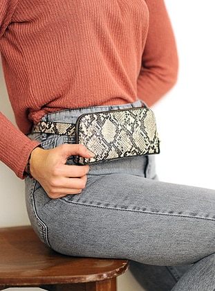 Black - Clutch - Wallet - WMİLANO