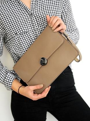 Mink - Satchel - Clutch Bags / Handbags