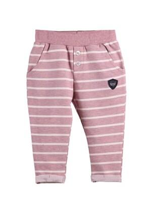Dusty Rose - Baby Sweatpants - Breeze Girls&Boys