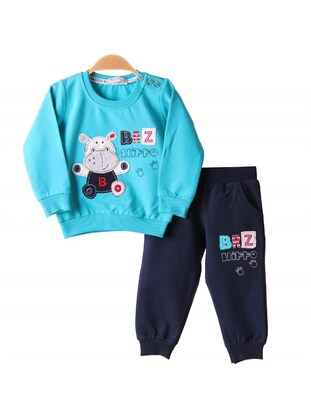 Multi - Baby Sweatpants - Breeze Girls&Boys