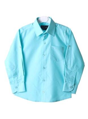 Turquoise - Boys` Shirt