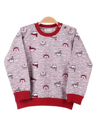 Brown - Boys` Sweatshirt