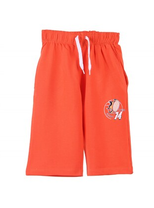 Orange - Boys` Shorts