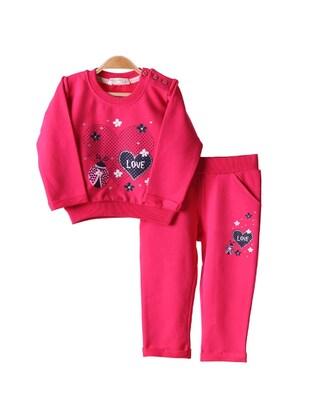 Fuchsia - Baby Sweatpants