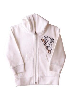 Ecru - Baby Cardigan