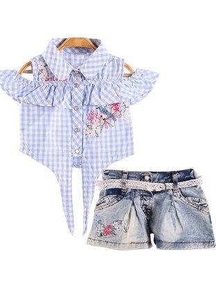 Blue - Baby Shorts