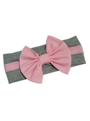 Unlined - Gray - Pink - Girls` Accessory - Babygiz