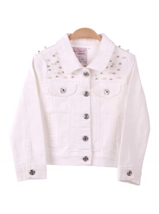White - Girls` Jacket - Breeze Girls&Boys