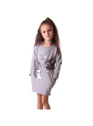 Gray - Girls` Dress - Breeze Girls&Boys