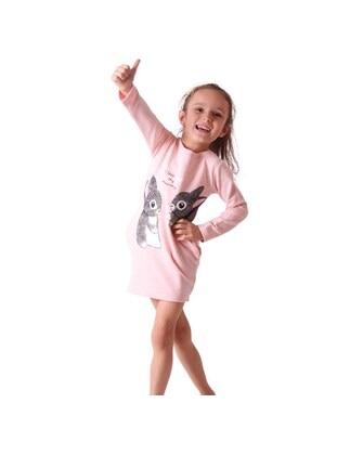 Salmon - Girls` Dress - Breeze Girls&Boys