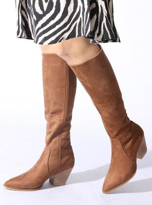 Tan - Boot - Boots - ROVIGO