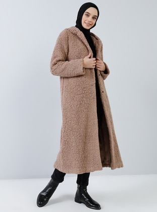 Brown - Fully Lined -  - Coat