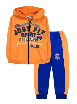 Multi -  - Multi - Orange - Boys` Suit