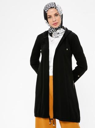 Black -  -  - Cardigan