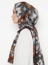 Mink - Printed - Shawl