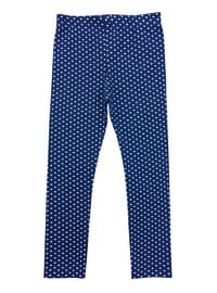 - Unlined - Navy Blue - Girls` Leggings