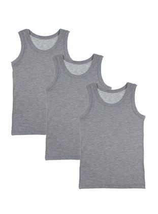 - Unlined - Gray - Kids Underwear