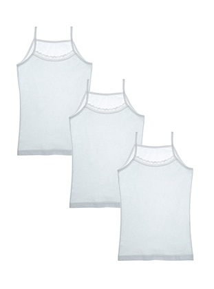- Unlined - White - Kids Underwear