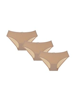 - Unlined - Nude - Kids Underwear