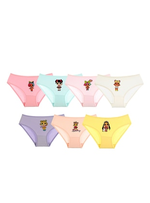 - Unlined - Purple - Pink - Nude - Green - Kids Underwear